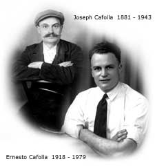 Joseph and Ernesto Cafolla
